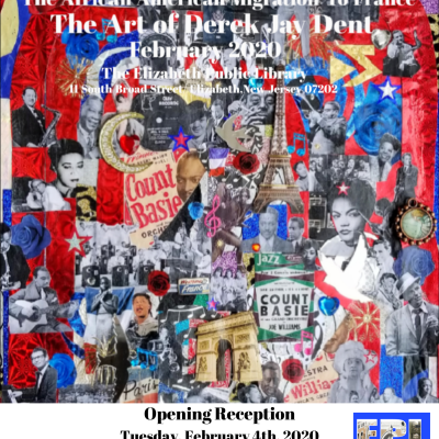 """April in Paris""  The Art of Derek Jay Dent"