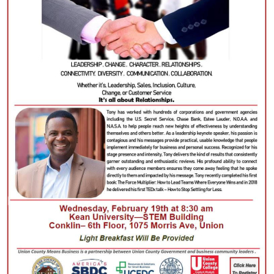 4th Annual Union County Means Business Networking Breakfast