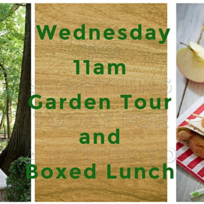 Guided Garden Tour and Boxed Lunch