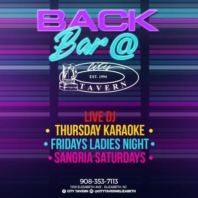 Back Bar @ City Tavern