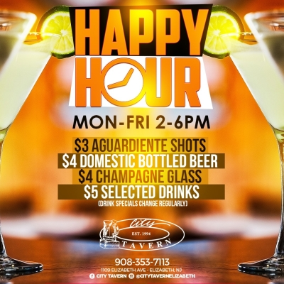 Happy Hour @ City Tavern