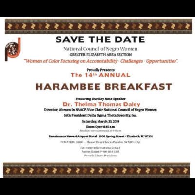 14th Annual Harambee Breakfast
