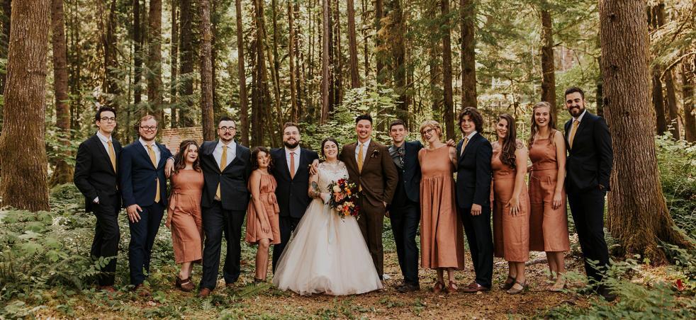 Cascade Mountains Weddings | McKenzie River Lodges | Eugene