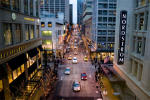 street view of downtown Seattle