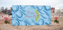 Merry Main St. Mural