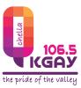 KGAY 106.5 logo