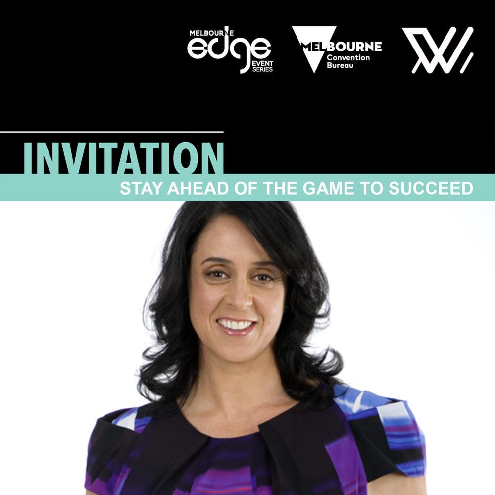 Melbourne Edge guest speaker