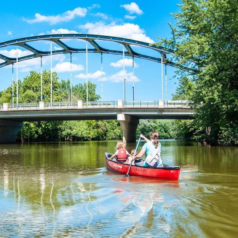 DO NOT USE Hilarye Fuller Canoeing in Fort Wayne, Indiana #MyFortWayne Photo