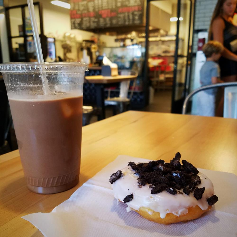 Zombie Coffee Oreo Donut