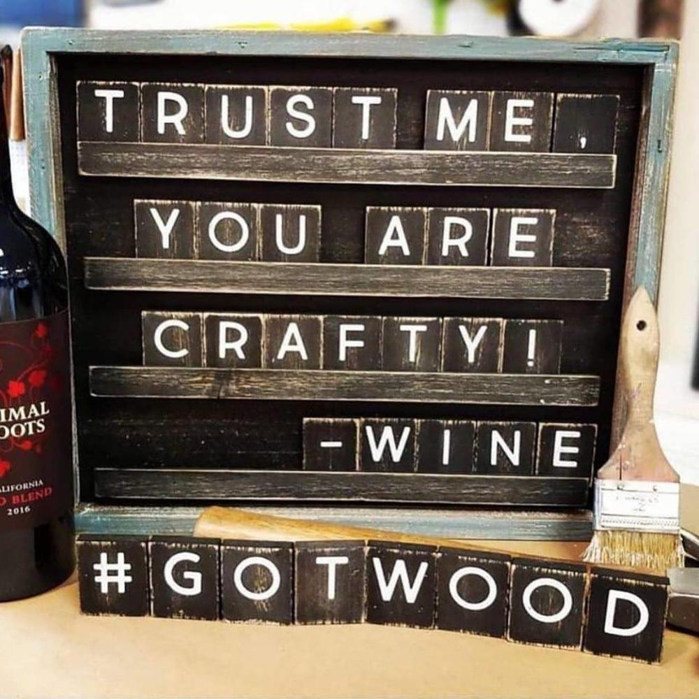 Board & Brush Wine