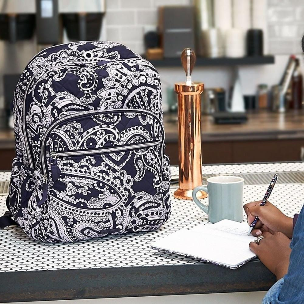 Vera Bradley Backpack and notebook