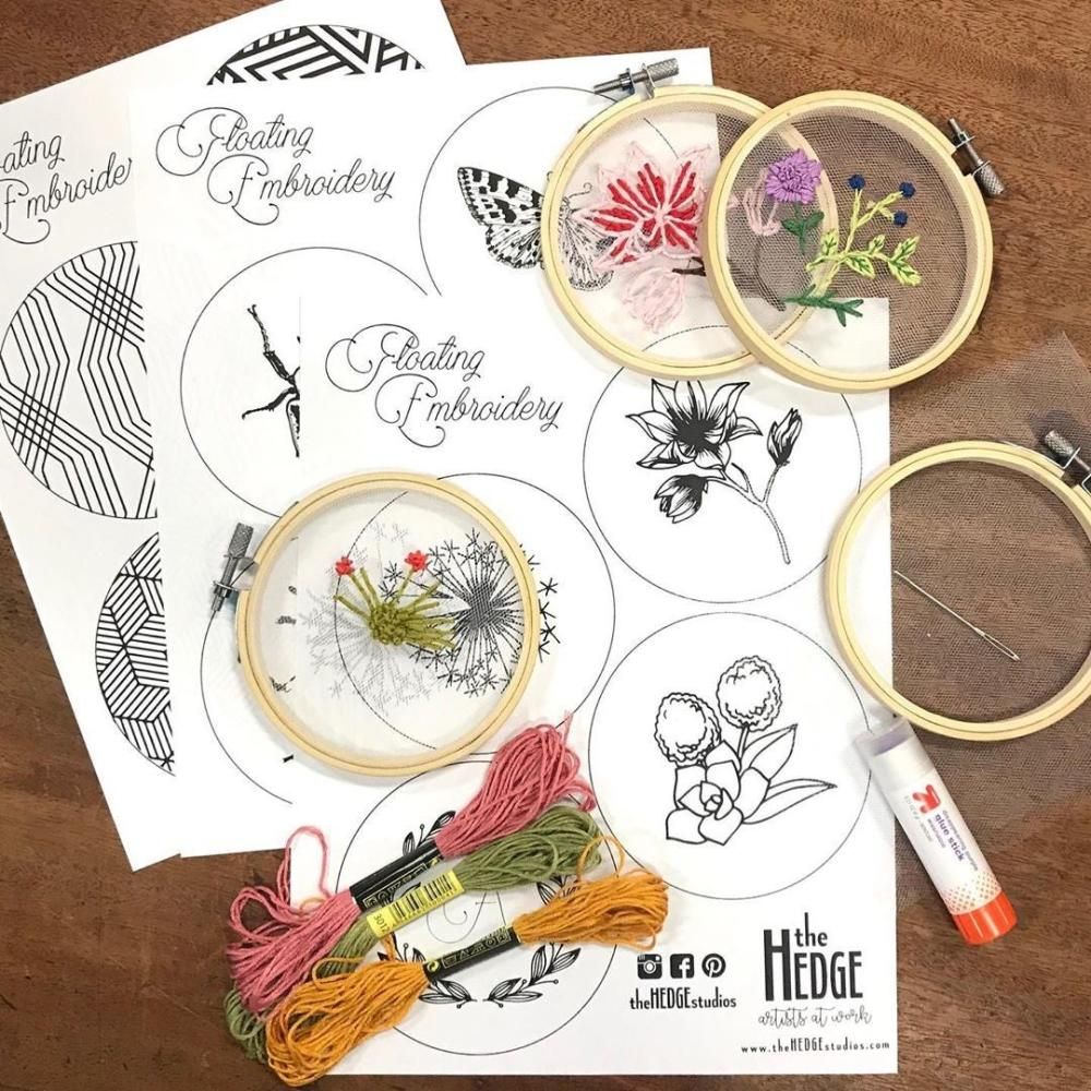 In-home art kits from The Hedge in Fort Wayne