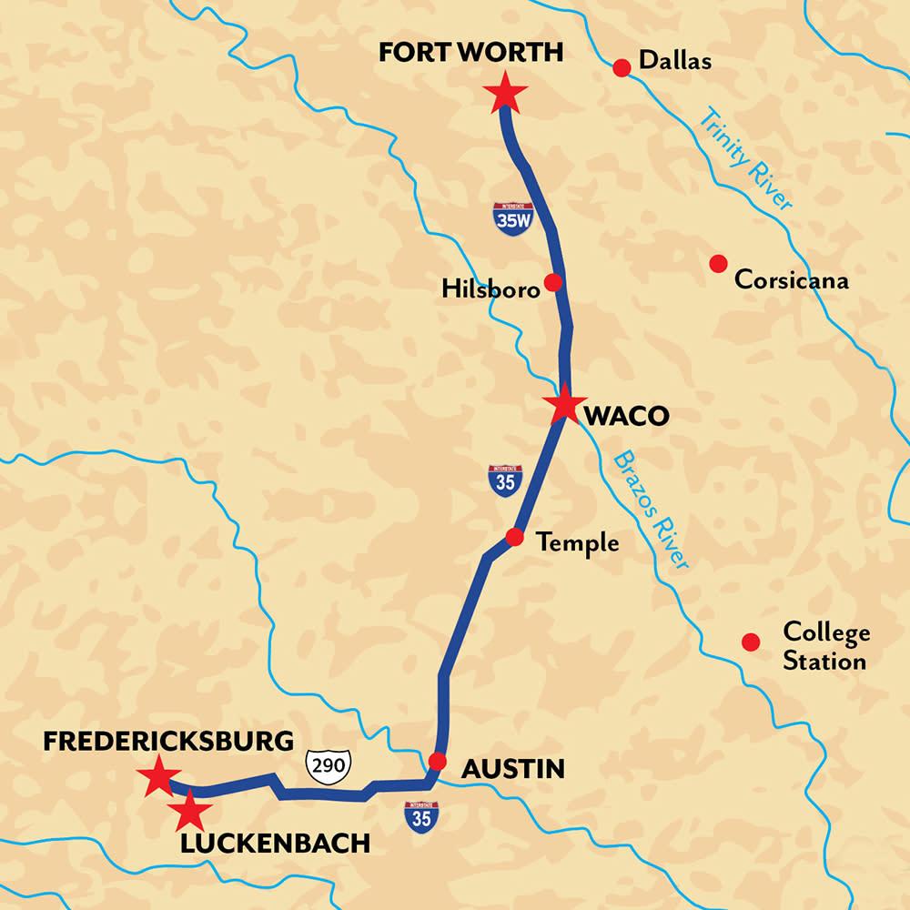 Waco Fredricksburg