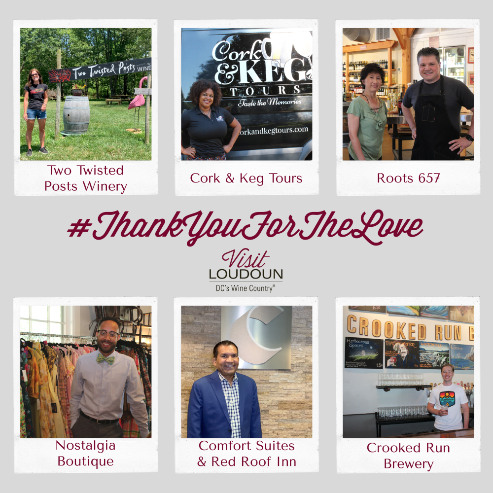 Local businesses share what they love most about being a part of the Loudoun community.