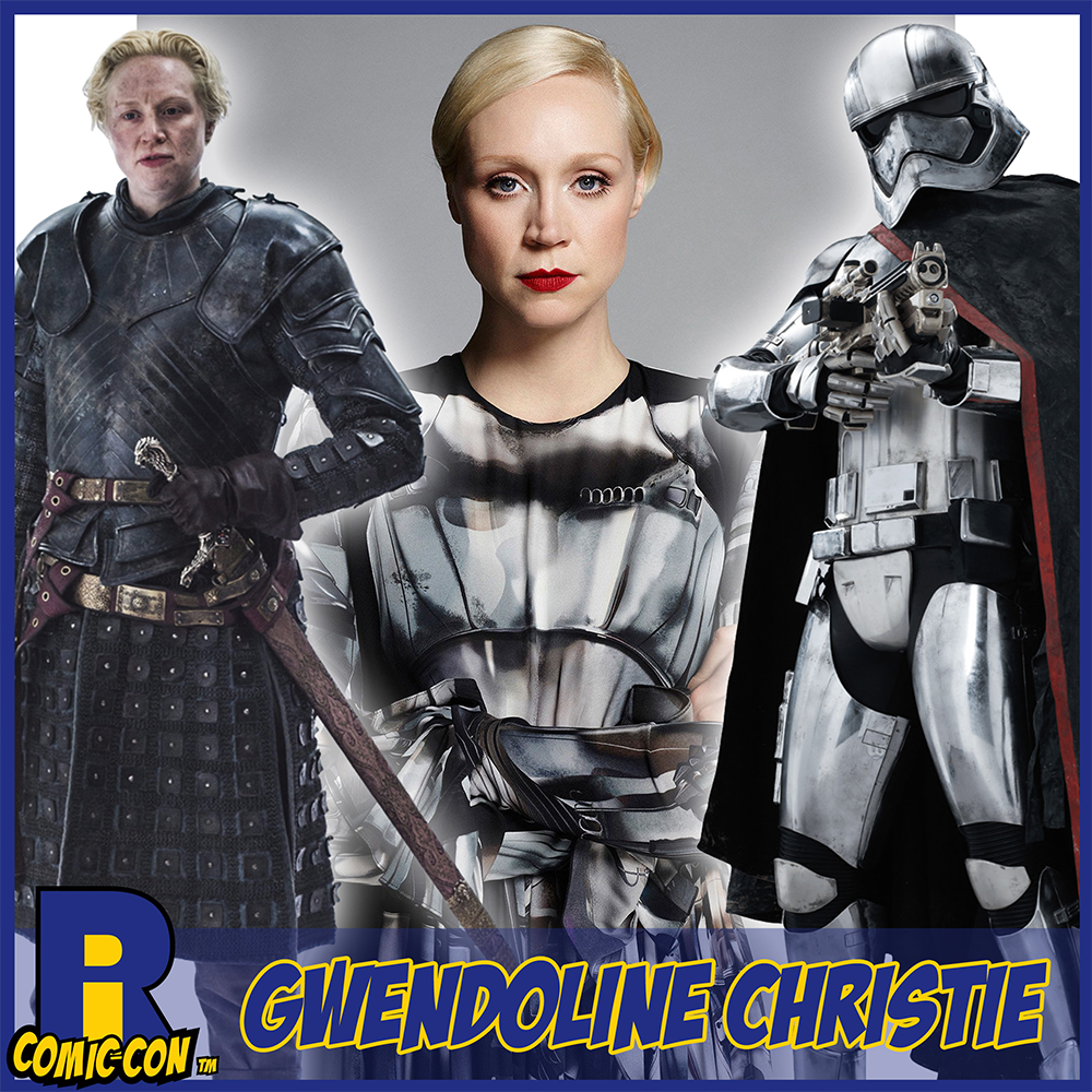 Gwendoline Christie RI Comic Con Poster Captain Phasma