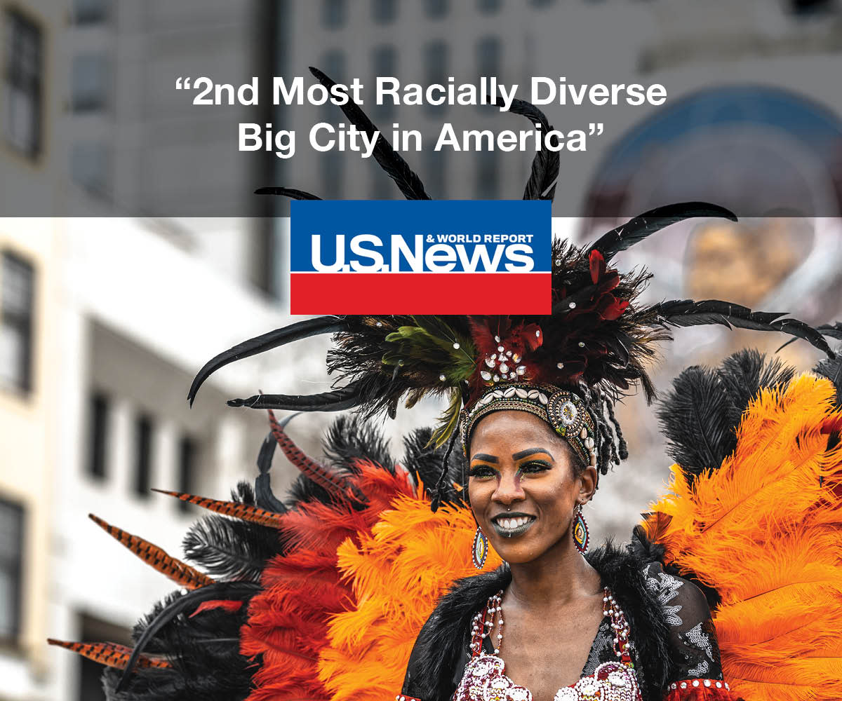 Graphic of U.S. News Diverse Big City in American