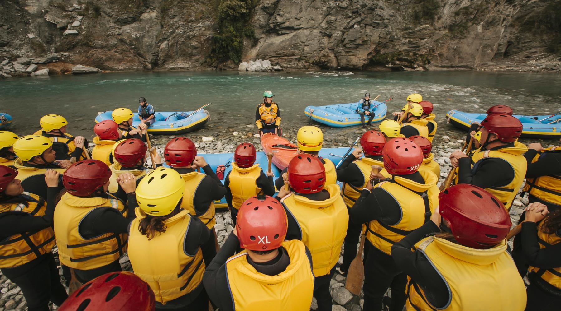 Skippers overnight rafting credit HQ New Zealand