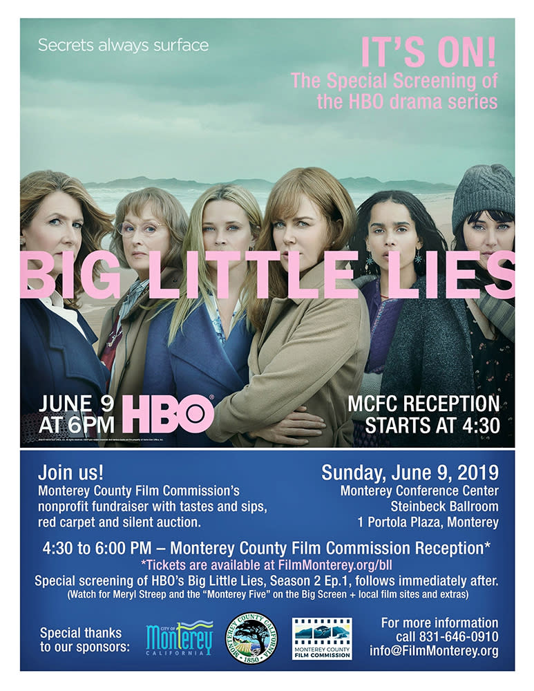 Big Little Lies Flier