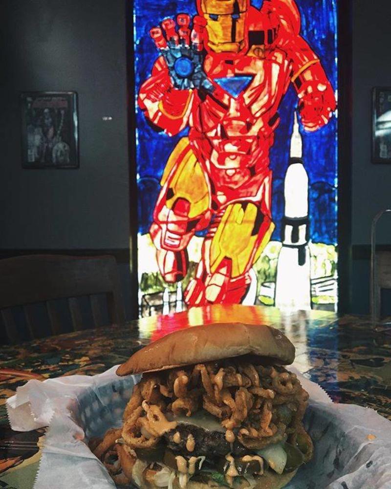 Supper Heroes Restaurant