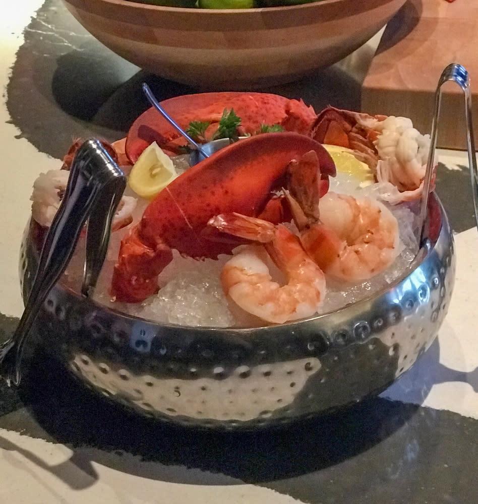 Fogo de Chao Seafood Combo