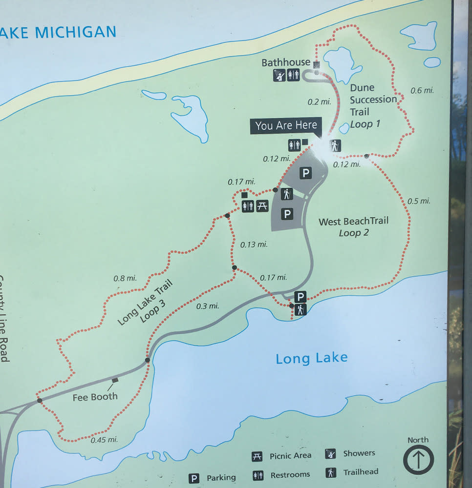 Haley Collins Succession Trail map