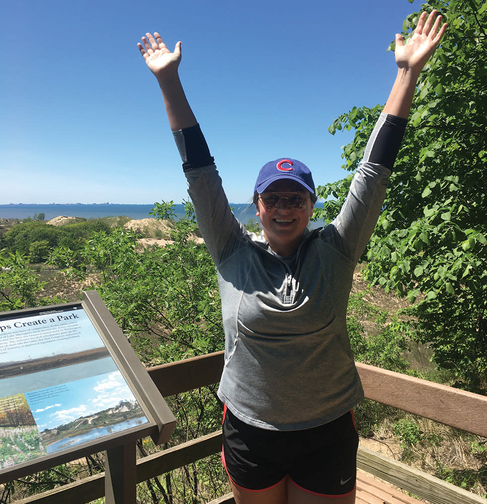 Haley Collins Succession Trail success