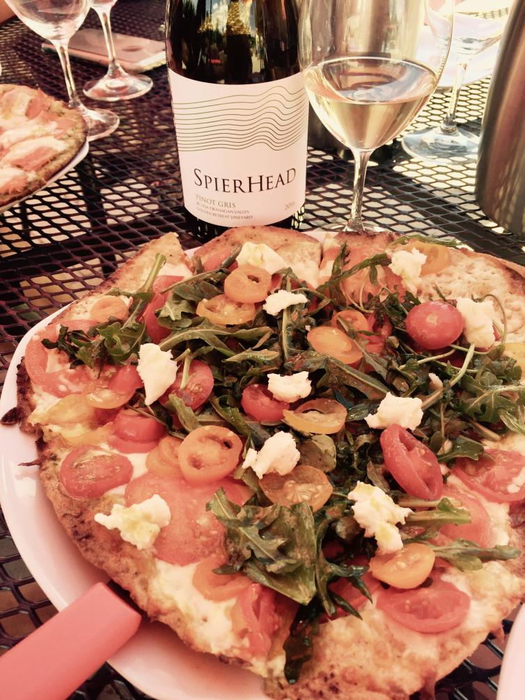 Woodfired Pizza at SpierHead Winery