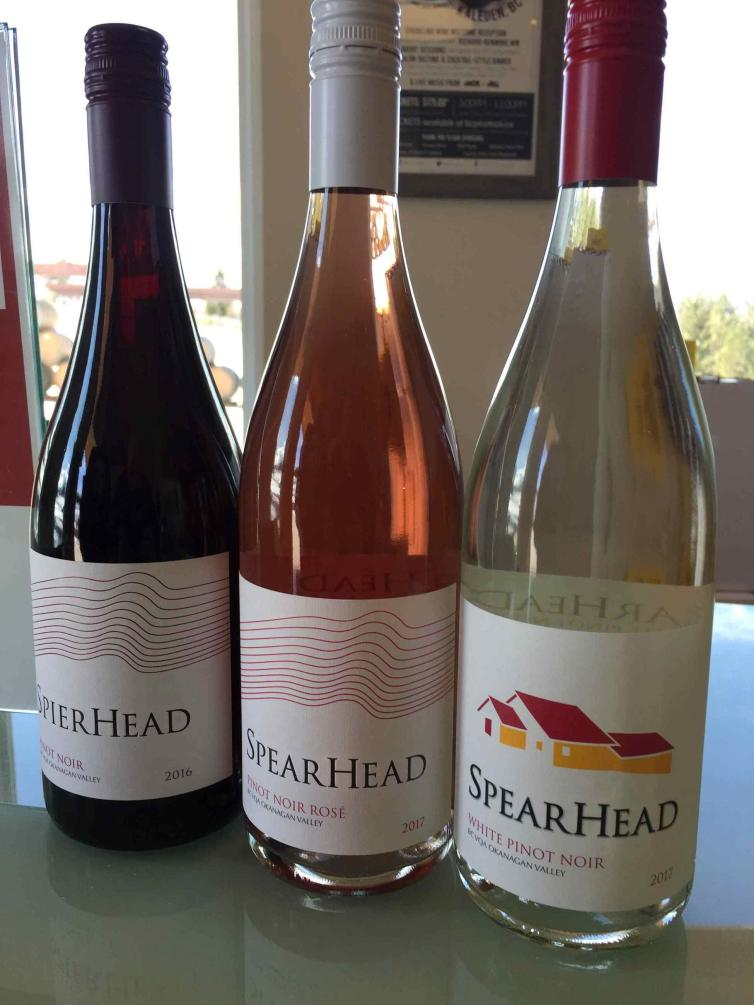 SpearHead Pinot Noirs