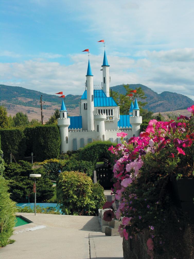 Scandia Mini Golf - Castle