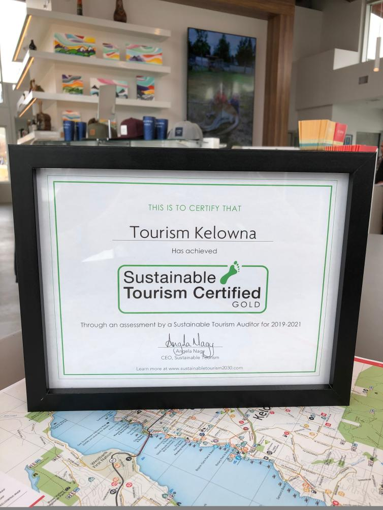 Sustainable Tourism Certified Gold