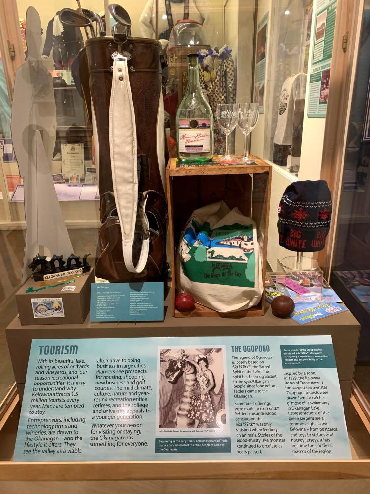Okanagan Heritage Museum Exhibit