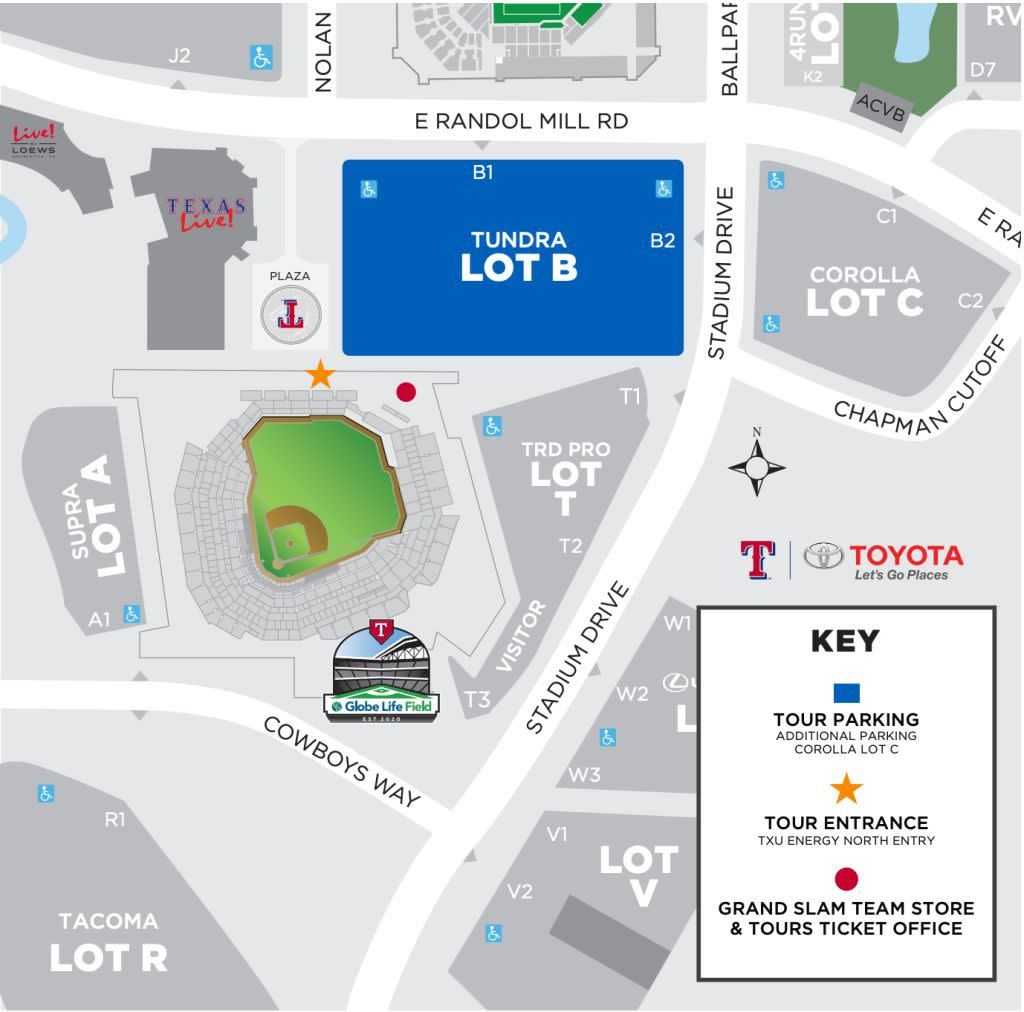 Parking for Globe Life Field