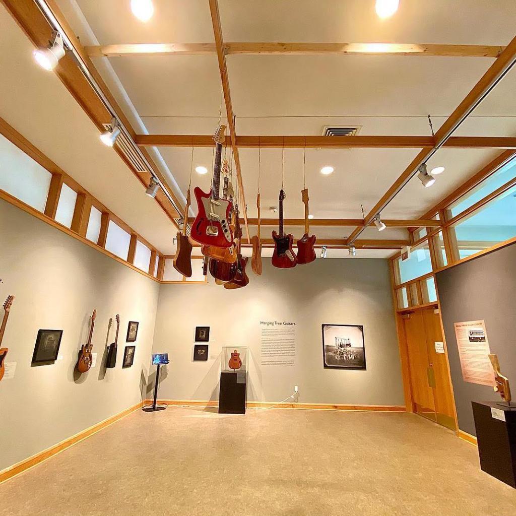 Freeman Vine Hanging Tree Guitars Exhibit