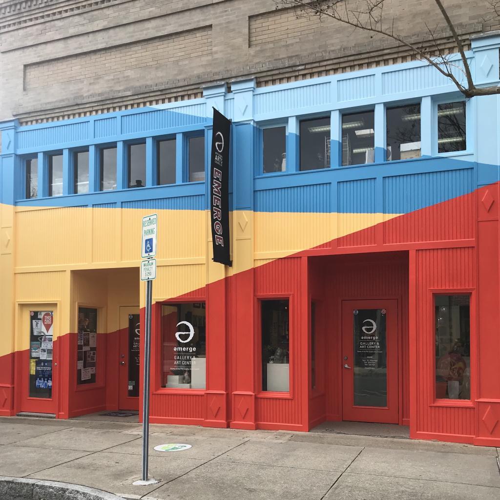 Emerge Gallery & Art Center Facade