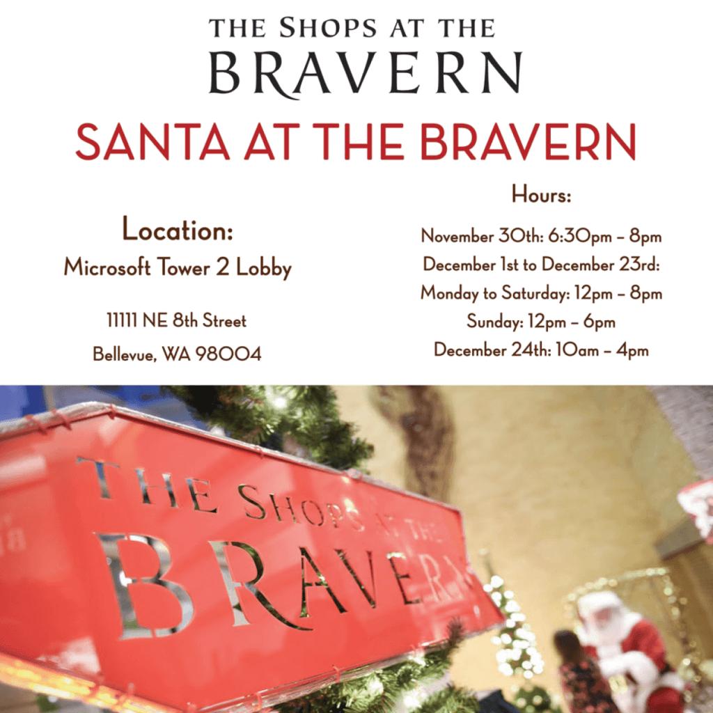 Santa at the Bravern