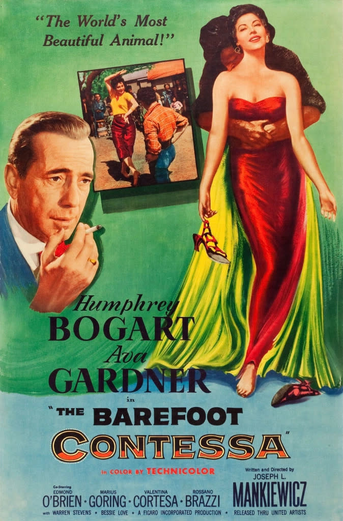 Barefoot Contessa Movie Poster in color