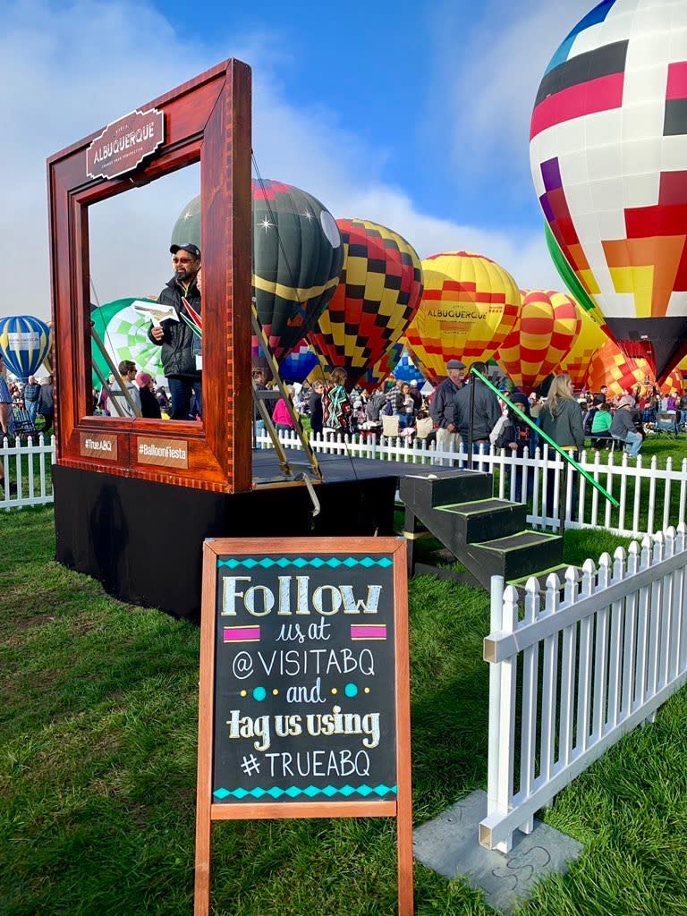 2019 Balloon Fiesta Frame