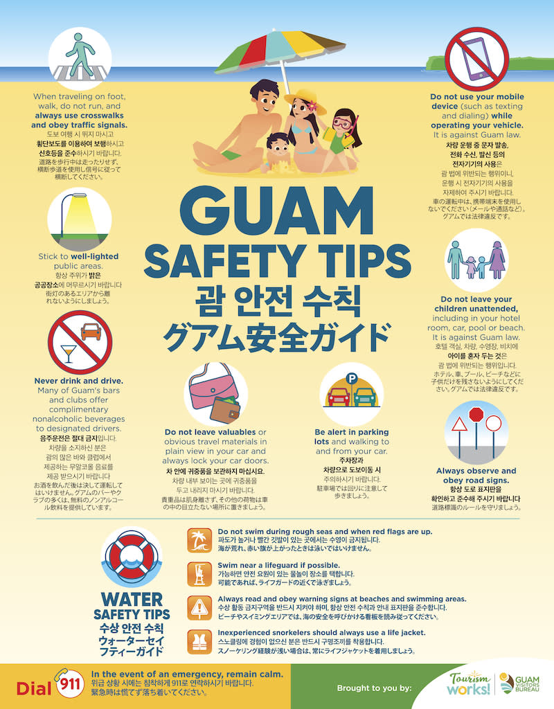 Guam Safety Tips - page 1