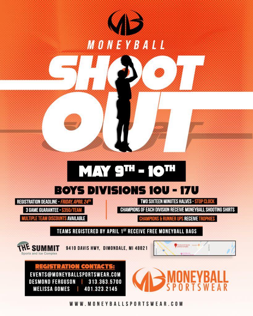 2020 moneyball shootout flyer
