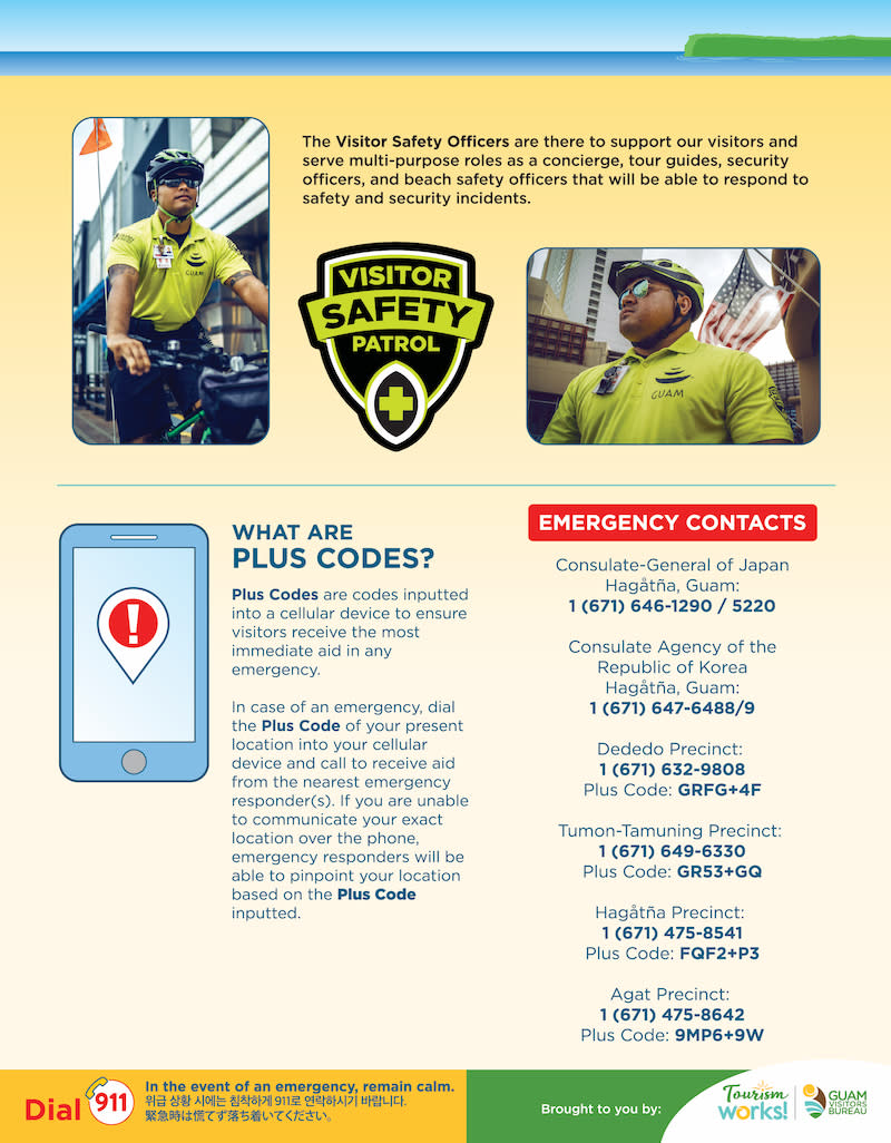 Guam Safety Tips - Page 2
