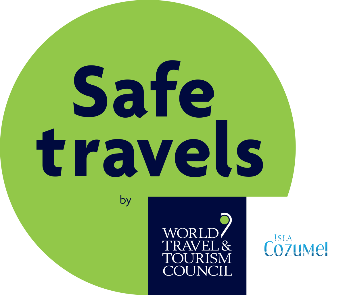 WTTC SafeTravels Stamp - Isla Cozumel