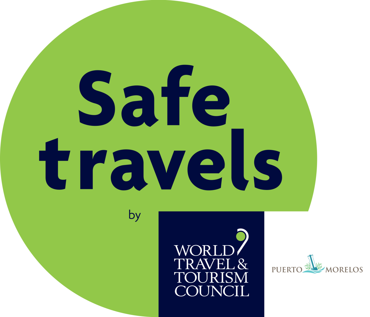 WTTC SafeTravels Stamp - Puerto Morelos