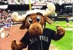 Seattle Mariners Moose