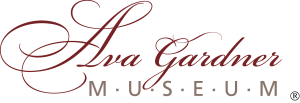 Logo for the Ava Gardner Museum in Smithfield, NC.