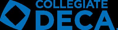 Collegiate DECA Blue Logo