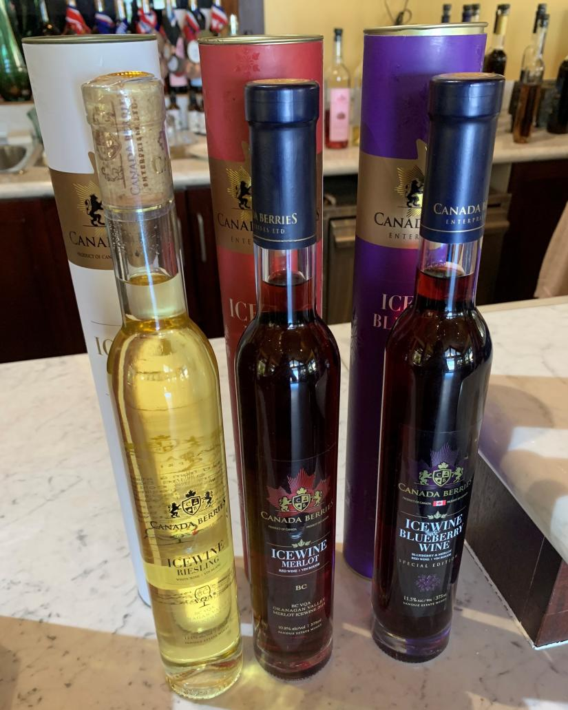 Icewine at Canada Berries