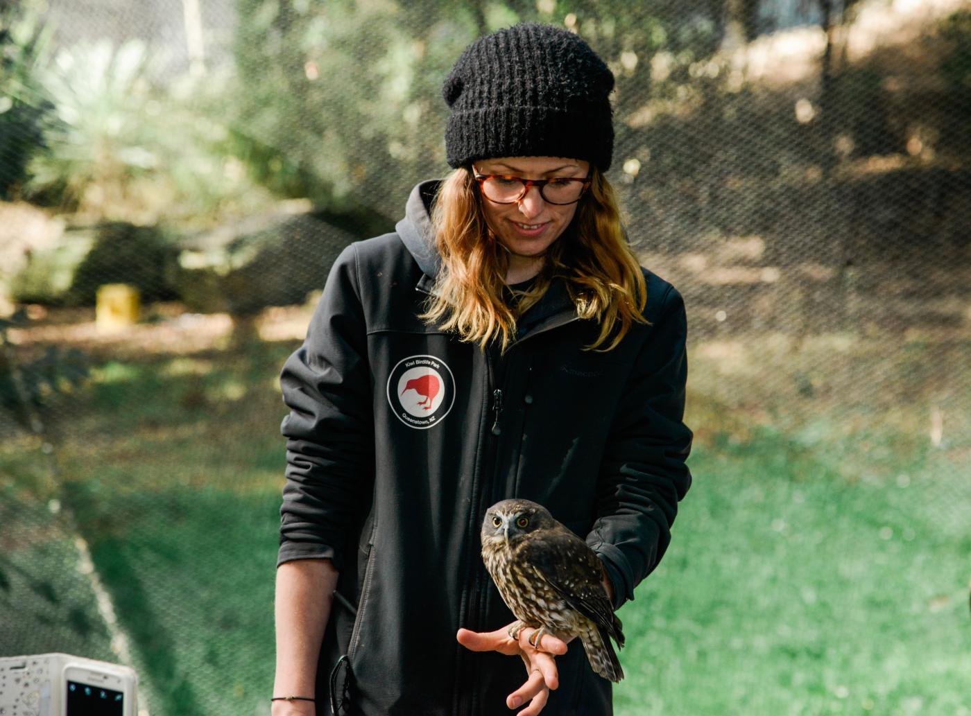 Kiwi Birdlife Park moorpork