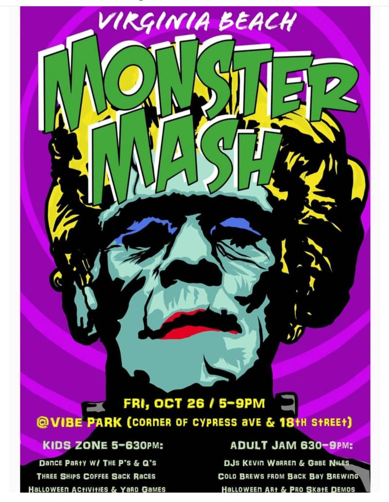 Vibe Creative District Monster Mash