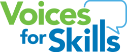Voices for Skills Logo