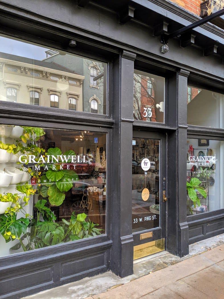 Grainwell Entrance